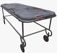 old bed 3d model
