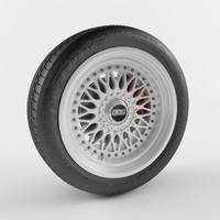Wheel BBS and tire Goodyear