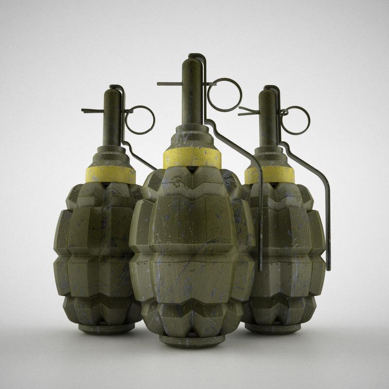 Hand grenade world war 2 shape-front.jpg