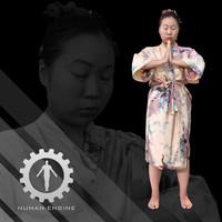 Female Scan - Lily Kimono Costume 2