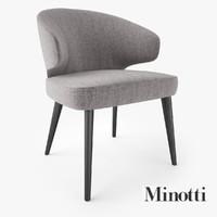 Minotti Aston Dining Armchair
