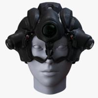 Rig Sci-Fi Helmet 2