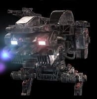 mech robot 3ds