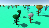 Low Poly Trees(5)