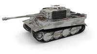 Panzer Tiger Tank Late 1944 v3