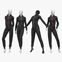 Female sport suit