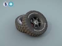 BFGoodrich wheels for car