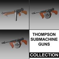 Thompson Submachine Gun - Collection