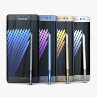 Samsung Galaxy Note7 All Color