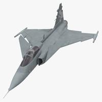Saab JAS 39 Gripen Rigged
