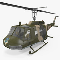 Bell UH-1 Iroquois Camo