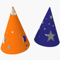2 Party Hats