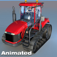 Tractor Animated