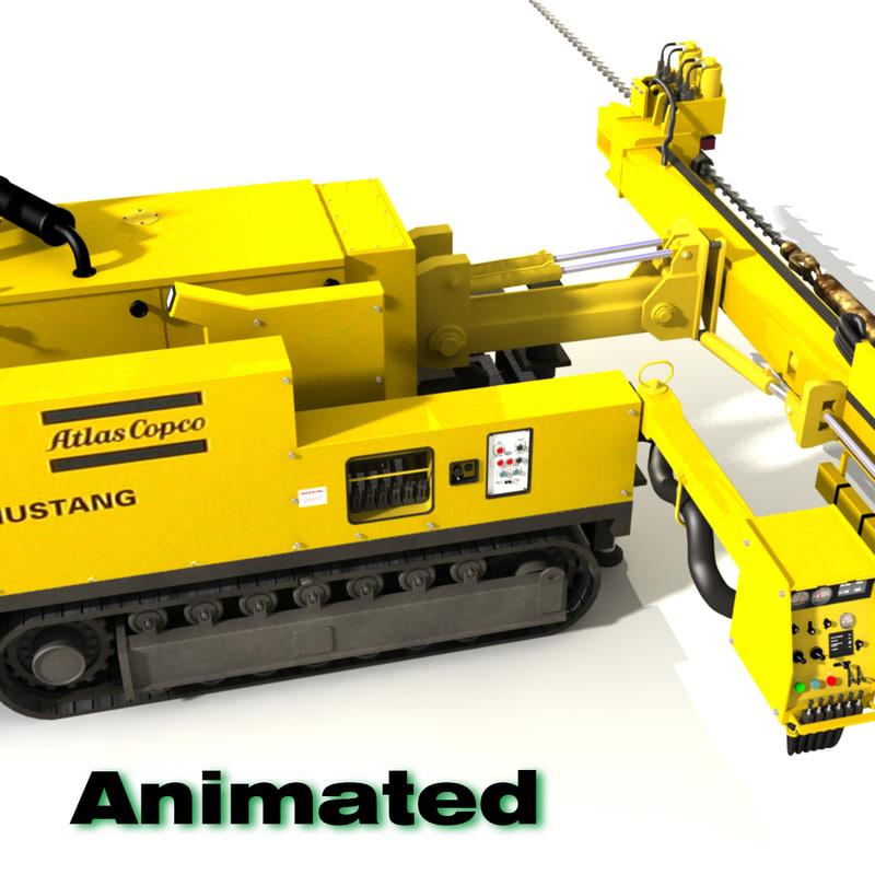Mine Drill 3d model C_00001.jpg