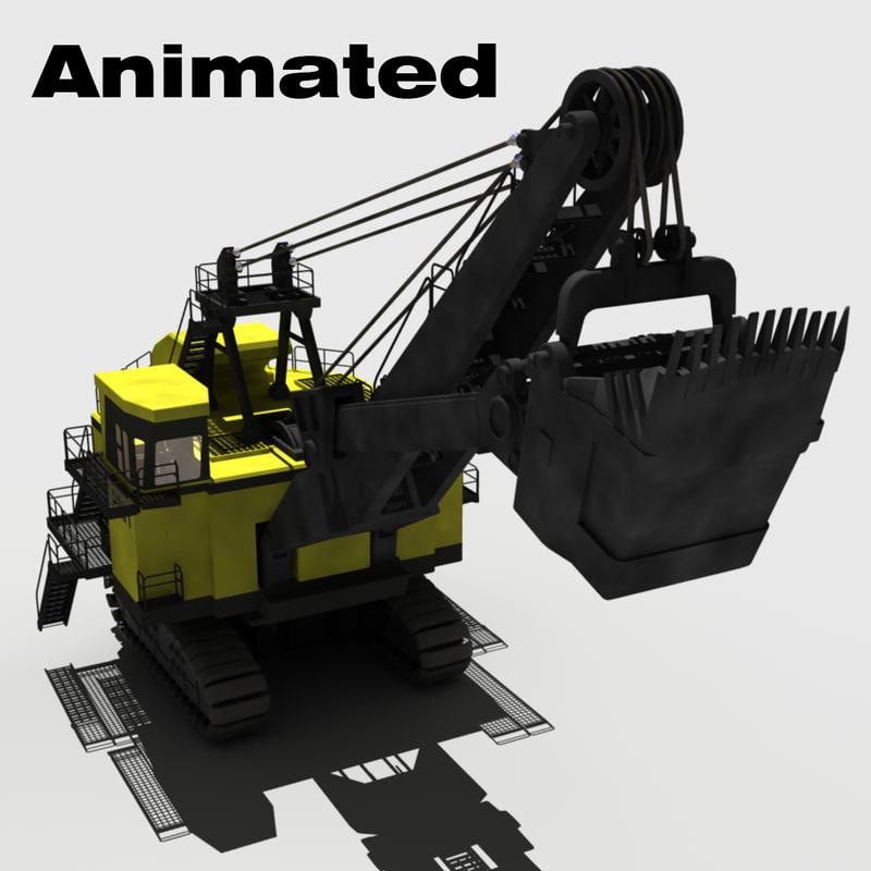 Mining Shovel 3d model A_00001.jpg