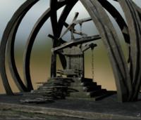 Steampunk Throne