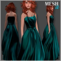 Gown Green