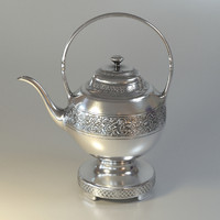 Ornamented Teapot