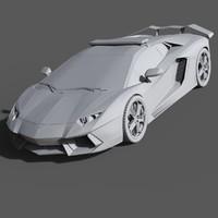 Lamborghini aventador ( Police )
