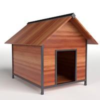 3d model doghouse gardens asset