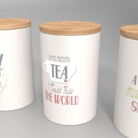 Storage Jars - Set of 3