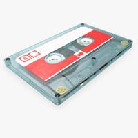 High Detailed Vintage Cassette