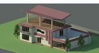 Villa Revit Model