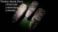 African Tribal Mask Pack