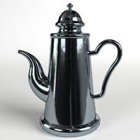 teapot nr 1 easily 3d 3ds