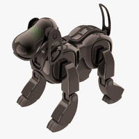 Sony Aibo Dog Black
