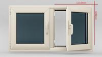 Plastic Casement window_02