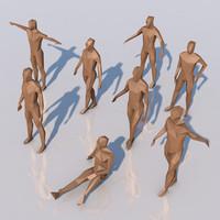 human standard (Low-Poly)