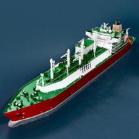 LNG Carrier Tanker Mozah