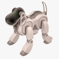 Sony Aibo Dog White Metallic