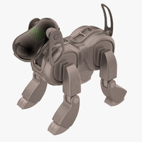 Sony Aibo Dog Black Metallic