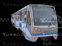 Metrotrain 81-740.1 Rusich Low-poly