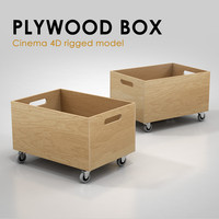 Plywood Box (rigged)