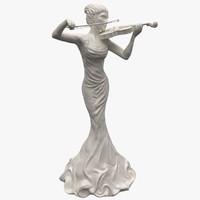 Violin Statuettes