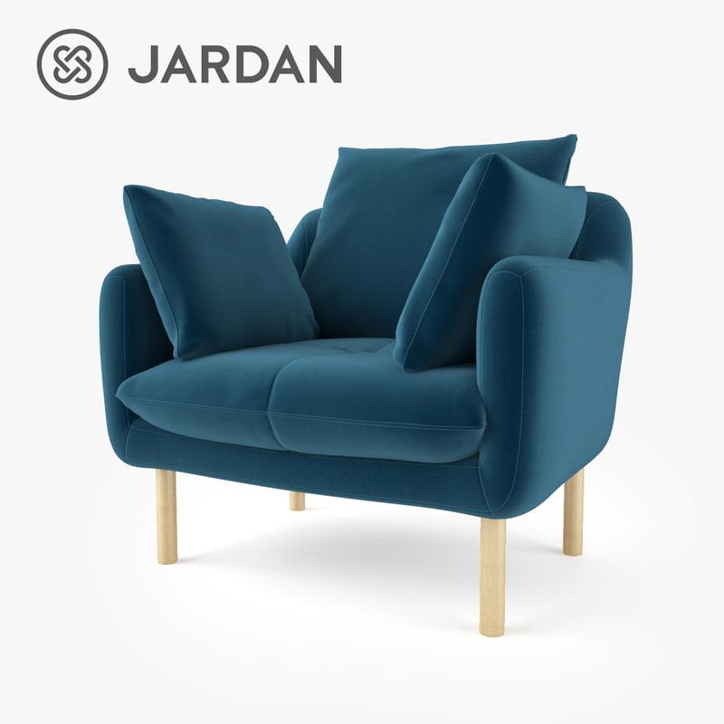 3d Fbx Jardan Andy And