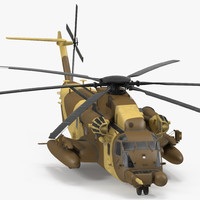 Combat Helicopter Sikorsky MH-53 Pave Low