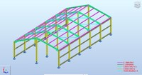 Construction Steel Revit Model