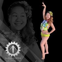 Female Scan - Lily Hawaiian Costume 2