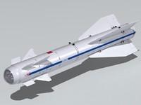 Kh-29TE missile.