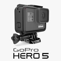 GoPro Hero 5 + Camera Housing