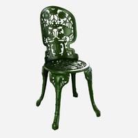 Seletti industry aluminium garden chair