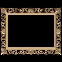 (405) Mirror Frame -3d STL model for CNC