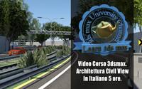 Corso 3ds max Civil View Versione MP4