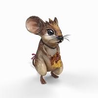 Cartoon Mouse Animation
