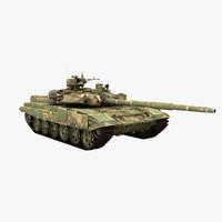Tank T-90 (Rigged)