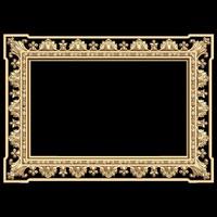 (421) Mirror Frame -3d STL model for CNC